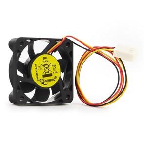 Вентилятор Gembird 40х40x10мм, питание от мат.платы (3pin), провод 25см (D40SM-12A-25)