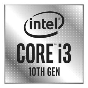 Intel Core i3-10100F, 4-core, 1+6МБ, 3.6-4.3ГГц, w/o graphics, S1200, 65W, OEM