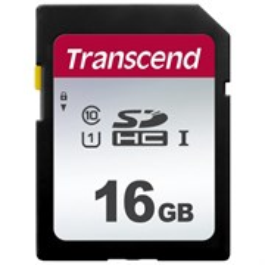 SD Memory Card SDHC 16GB сlass10 UHS-I U1 Transcend 95MB/s (TS16GSDC300S)