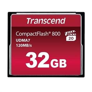 CompactFlash Card 32Gb Transcend 800x (TS32GCF800)