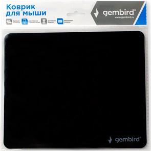 Коврик для мыши Gembird MP-BASIC, чёрный, 220х180х0.5мм