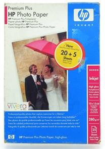 Бумага HP A6 Q8028A Premium Glossy (печать без полей, 25 листов 10x15см 280г)