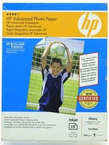 Бумага HP B6(13x18) Q8696A Premium Glossy (25 листов, 250г/м2)