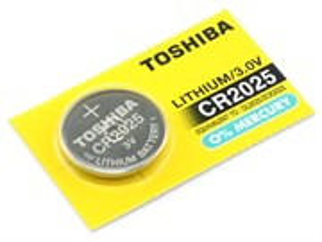 CR2025 Toshiba (Li, 3V) 1шт.