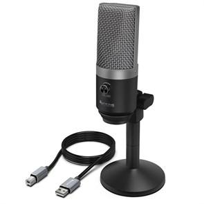 Микрофон FIFINE K670 черно-серебристый