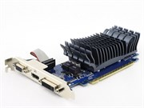PCI-E x16 GF 210 ASUS EN210 SILENT (210-SL-TC1GD3-L) 1GB DDR3 (RTL)
