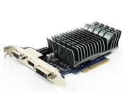 PCI-E x16 GeForce GT 730 ASUS GT730-SL-2GD3-BRK 2GB DDR3, SILENT (RTL)