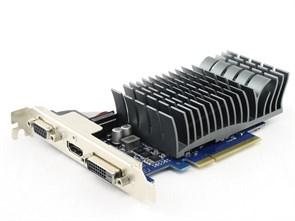 PCI-E x16 GeForce GT 730 ASUS GT730-SL-1GD3-BRK 1GB DDR3, SILENT (RTL)