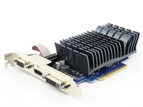 PCI-E x16 GeForce GT 710 ASUS GT710-2-SL-BRK 2GB DDR3, SILENT (RTL)