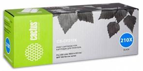К-ж HP CF210X (№131X) HP LJ Pro 200 M251 / M276, 2400 страниц, чёрный, Cactus