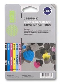К-ж Epson T048140BA/4874010 (T048140+T048240+T048340+T048440+T048540+T048640) Cactus