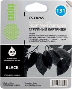 К-ж HP C8765 (HP131) Black для DJ 6543/5743/5740/6843, PS 8153/8453, 16мл, Cactus