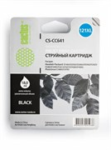 К-ж HP CC641HE (№121XL Black) для F4200/ D2563 / F4283  (увеличенной емкости) Cactus