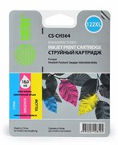 К-ж HP CH564HE (№122XL Color) DJ 2050, 18мл, Cactus
