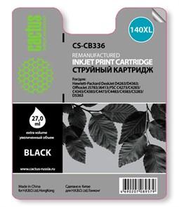 К-ж HP CB336HE (№140XL) Black (officejet J5783) (увеличенной емкости), 27мл, Cactus