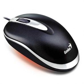 Мышь Genius Optical Mini Traveler <Black>, 800dpi, USB