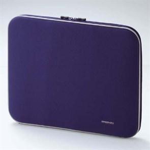 Чехол для ноутбука Elecom ZSB-IB010BU (синий нейлон, ZeroShock, 37 х 29 х 4см внутр.)