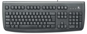 Клавиатура Logitech Deluxe 250 BLACK (PS/2) (967642)