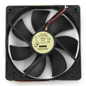 Вентилятор Gembird 120x120x25мм, питание от мат. платы
