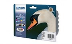 К-ж Epson T0817 MultiPack (T0811+T0812+T0813+T0814+T0815+T0816) повыш.емк., ориг.