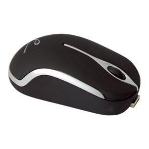 Мышь Rovermate Optirec 800dpi черная, мини, USB (Ergomate-027)