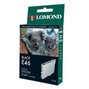 "К-ж Epson T0461BK Black (Stylus C63 Photo/ C65 Photo) ""Lomond"" (202710)"