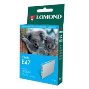 "К-ж Epson T04724A Cyan (Stylus C63) ""Lomond"" (0202707)"