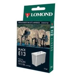 """К-ж Epson T013 Black (480/580/C20/C40) """"Lomond"""" (202742)"""