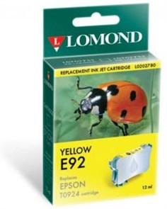 "К-ж Epson T09244A10 Yellow для EPS C91/CX4300 ""Lomond"" (202780)"