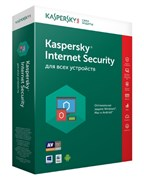 Kaspersky Internet Security (на 2 компьютера, 1 год)