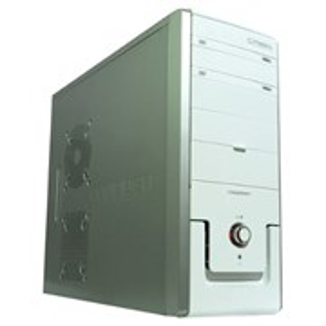 ATX Coupden CP350 white, 350W CWT, 2 USB/AC'97 audio + mic, 2x120mm + [80/120]