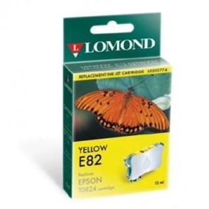 "К-ж Epson T08244A Yellow для EPS R270/290/RX590 ""Lomond"" (202774)"