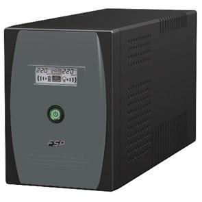ИБП FSP EP1500 (1500VA, AVR, RJ11, USB, COM, LCD дисплей, 3+(2+1) розетки, шум <40dB) (PPF9000105)