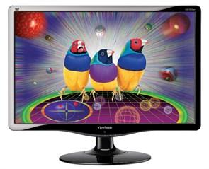 "LCD 19"" Viewsonic VA1932wa Black (16:10, 48см, CCFL, 1440x900, 1000:1, 300кд, 5мс, 170/160°)"