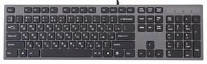 Клавиатура A4Tech KV-300H ультратонкая, ноутбучный механизм клавиш, 2xUSB, USB