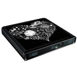 Внешний DVD±RW Lite-On eNAU608-T04 USB, LabelTag, LightScribe, Black, питание от USB