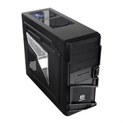 ATX Thermaltake Commander Black (VN400A1W2N), с окном, USB 3.0, без блока питания