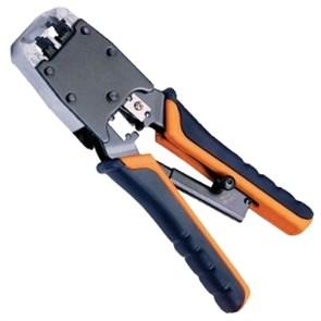 Инструмент HT-500R для обжима RJ-12, RJ-45 cat.5 (с фиксатором)