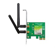 Wireless LAN Adapter PCI-e 802.11n TP-Link TL-WN881ND, 300Mbit/s, 2 антенны