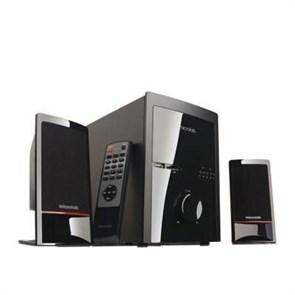 Microlab M700U (2x14Вт + сабвуфер 18Вт, 35Hz-20kHz, SD-card/ USB, FM, ПДУ, черные)