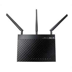 Маршрутизатор Wi-Fi 802.11n ASUS RT-N66U 4*LAN-G+1WAN-G, Dual-Band, 450 Mbps, 2xUSB2.0, черный