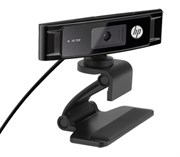 HP Webcam HD-3300 (720p, 1280x720, микрофон) (A5F63AA)