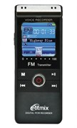 Диктофон Ritmix RR-960 (4Gb, MP3/WAV/PCM(WAV), 22-1078 ч, воспр. MP3/WMA, стереомикрофон, microSD, USB)