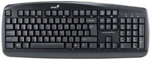 Клавиатура Genius KB-110X, 104КЛ, Silver, USB