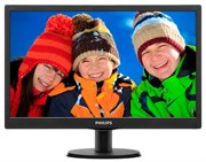 """LCD 19.5"""" Philips 203V5LSB26/62(10) Black (16:9, 49.5см, LED, 1600x900, 1000:1, 5мс)"""