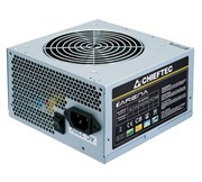 Блок питания ATX 500W Chieftec GPA-500S8, 12V@24A+21A, 120mm, Active PFC, 80+