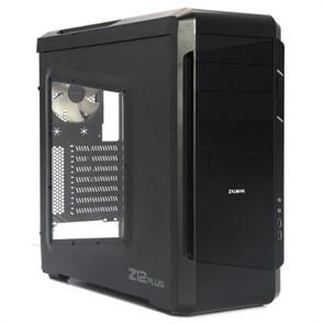 ATX Zalman Z12 Plus (Black, 3*120mm+[2*140mm], USB 3.0, с окном, без блока питания)
