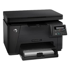 HP LaserJet Pro color M176n (цв. лаз. МФУ, LAN, <к-жи CF350A-353A>)