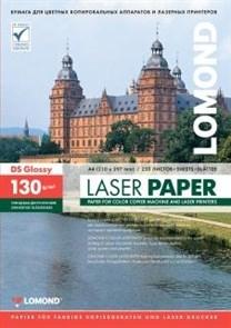 Бумага Lomond A4, для цветной лазерной печати, глянцевая, двустор., 130 г/м2, 250л. (0310141)