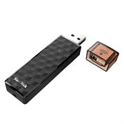 Wi-Fi+USB 2.0 Flash Drive 64GB SanDisk Connect Wireless  (iOS/Android/MacOS/Win) (SDWS4-064G-G46)